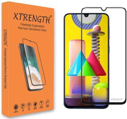 XTRENGTH Edge To Edge Tempered Glass for VIVO V20 SE