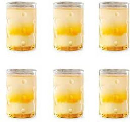 BOROSIL (Pack of 6) 207195 Glass Set