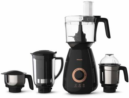 PHILIPS Avance Avenger Collection HL7707 750 Juicer Mixer Grinder (4 Jars, Multicolor)