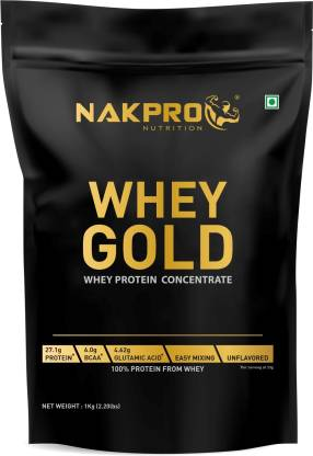 Nakpro GOLD 100% Whey Protein Concentrate Supplement Powder Whey Protein