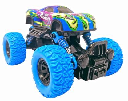 Toyshack Rock Crawler Monster Truck Pull Back with Rubber Wheels for Kids