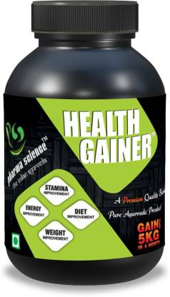 Pharma Science Ayurvedic Weight Gainer Supplement Powder for Men and Women