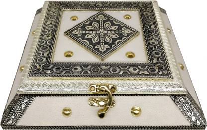 Sarangware Attractive Oxidized Metal Wooden Empty Dry Fruit Box Sweet Chocolate Snack Mukhwas Pan Masala Box Home Décor Gift Item Diwali Gift Wood Decorative Platter Price In India Buy Sarangware Attractive Oxidized Metal Wooden Empty Dry Fruit