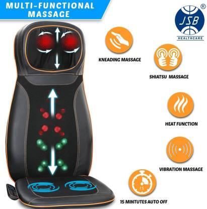 JSB HF64 With Heat Full Back & Neck Kneading Massager
