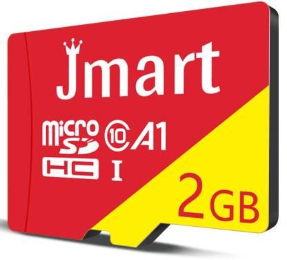 Jmart Ultra Premium 2 GB MicroSD Card Class 10 40 MB/s  Memory Card