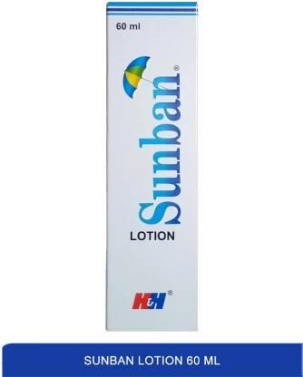 sunban lotion - best sunscreen lotion 60ml