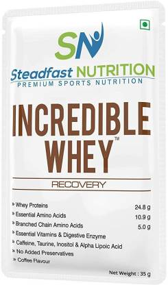 Steadfast Medishield Incredible Whey Protein Coffee Flavour Whey Protein