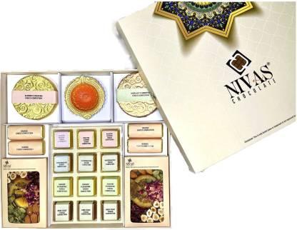 NIVAS CHOCOLATE CELEBRATION CHOCO CONFECTION GIFT BOX Bars