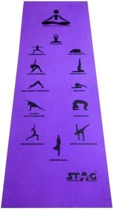 STAG Yoga Mantra Asana Purple 10 mm Yoga Mat