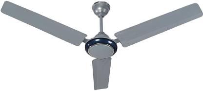 Sameer Stellar Dual Tone Silver Blue 1200 mm 3 Blade Ceiling Fan