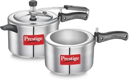 Prestige Nakshatra 5 L, 3 L Pressure Cooker