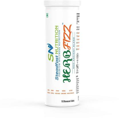 Steadfast Medishield Herb Fizz - Ancient Herbal Blend for Immunity Boost, Gut Health and Digestion