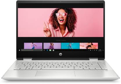 HP Pavilion x360 Core i3 10th Gen - (8 GB/256 GB SSD/Windows 10 Home) 14-dh1181TU 2 in 1 Laptop