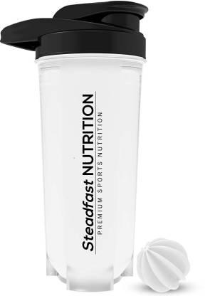 Steadfast Medishield Superior Quality Protein Shaker Blender Bottle with Blender Ball 700ml 700 ml Shaker