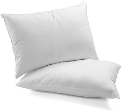 Neetu Traders Microfibre Solid Sleeping Pillow Pack of 2