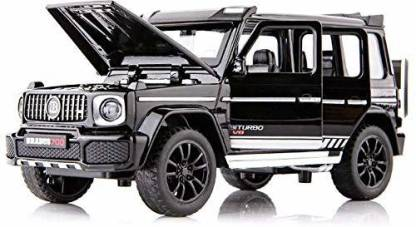 Galactic 1:32 Die-cast brabus benz toy car Metal Cars Brabus Mercedes toy cars Pullback Toy car for Kids Best Gifts Vehicle Toys for Kids Sound and Light Pull Back Cars Toys Truck Cars