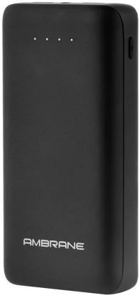 Ambrane 27000 mAh Power Bank (18 W, Fast Charging)