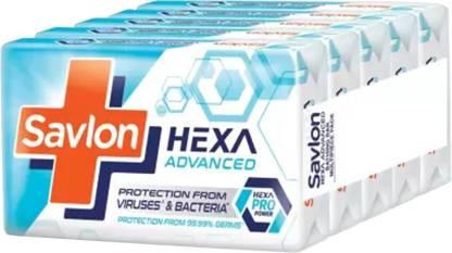 Savlon Hexa Advanced Soap - 125gx5