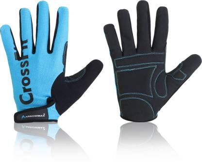 ArrowMax Cross-fit full finger gym and fitness/sports/riding/cycling with padding Gym & Fitness Gloves