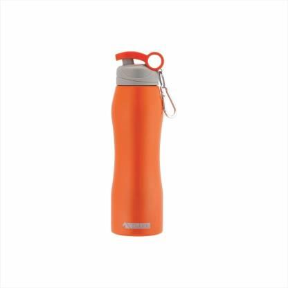 DUBBLIN Handy Stainless Steel Sipper Water Bottle, Sports Water Bottle (Orange 750 ML) 750 ml Sipper