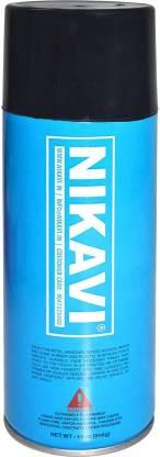nikavi Automotive Paint Spray Can for Bike, Matt Black (400ML)… BLACK Spray Paint 400 ml(Pack of 1)