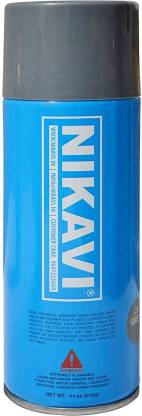 nikavi Automotive Rust Paint Spray Can for Motorcycle, Grey (400 ML) GREY Spray Paint 400 ml(Pack of 1)