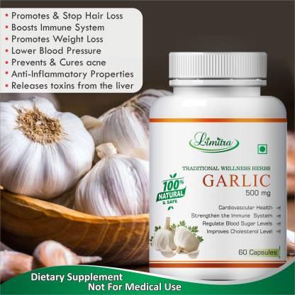Limitra Garlic, For Regulate Blood Sugar Level 100% Natural
