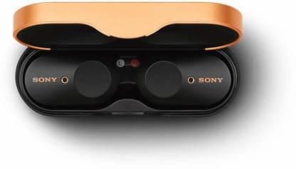Sony WF-1000XM3 Bluetooth Headset (Black, True Wireless)