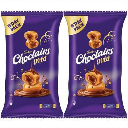 Cadbury Choclairs Gold (110 Candies), 605 gm (Pack of 2) Truffles (2 x 605 g) Truffles