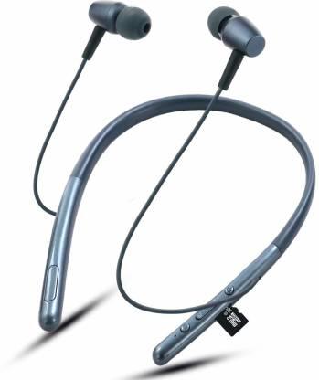 TECHFIRE HI Bass 2 Mobile Connectivity Neckband Wireless Bluetooth Bluetooth Headset