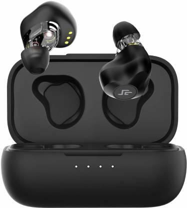 CrossBeats CB-EVOLVE Bluetooth, Bluetooth without Mic Headset(Black, True Wireless)