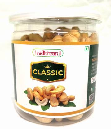 Nidhivan Classic Jar (250gms) Big Whole Cashews