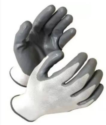 ETS ETS_CUT_WHITE Rubber  Safety Gloves