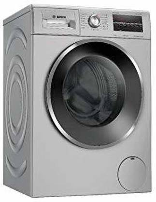 BOSCH 8 kg Fully Automatic Front Load Silver