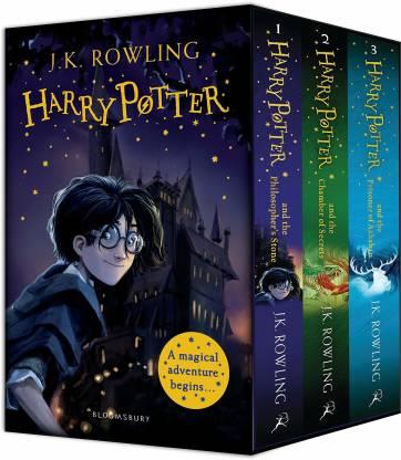 Harry Potter 1-3 Box Set: A Magical Adventure Begins Paperback – 2019( Books For Kids)