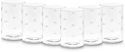 BOROSIL (Pack of 6) VDLM295 Vision Glasses 295ml, Set of 6 Glass Set