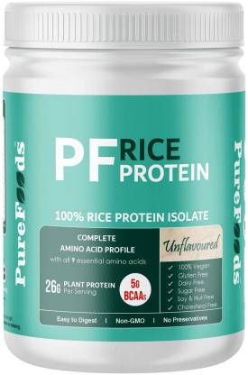 PureFoods PF Rice Protein Unflavoured Plant-Based Protein