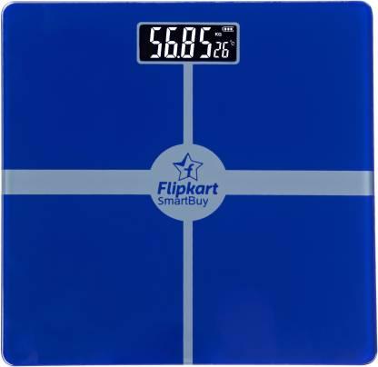 Flipkart SmartBuy Health Plus Digital Body Weighing Scale with Batteries