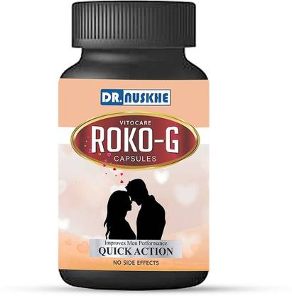 Dr Nuskhe Roko-G for Men (Male power enhancement) With Natural Herbal Ingredients | Ayurvedic | No side effects (10 Tablets)