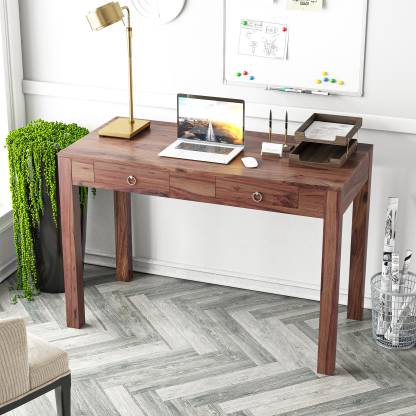 Meera Handicraft Sheesham Wood Solid Wood Computer Desk