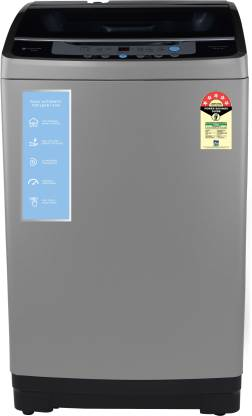 MOTOROLA 8 kg Smart Wi-Fi Enabled Inverter Technology Fully Automatic Top Load Grey