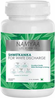 Namyaa ShwetKanika -For White Discharge- Pack of 60 Tablets