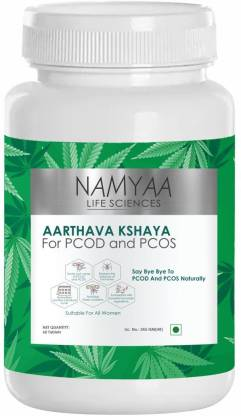 Namyaa Aarthava Kshaya- For PCOD and PCOS- Pack of 60 Tablets