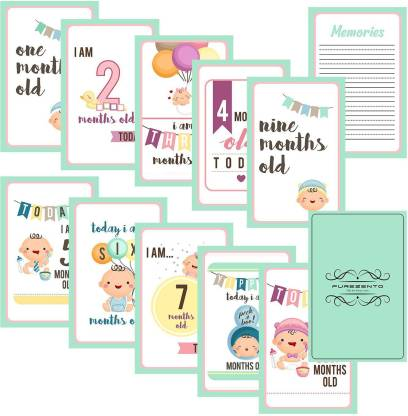 Galaxy Comfort Set Of 27 Pregnancy Milestone Cards - Pregnancy Reveal - Pregnancy Cards - Pregnancy Gift - Pregnancy Journal - New Mom Gift - New born Photo Props Greeting Card