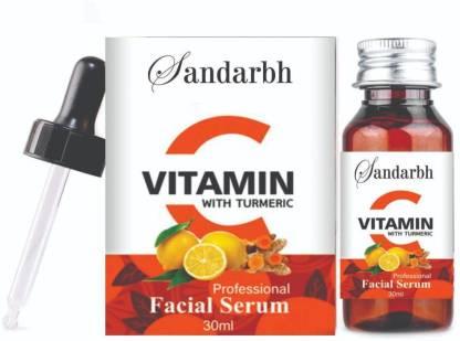 Sandarbh Improved vitamin C Facial serum- For Anti Aging & Brigthening Face