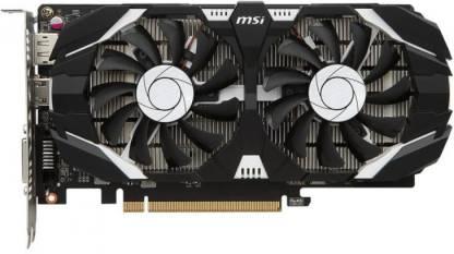 MSI NVIDIA GTX 1050 Ti 4 GB GDDR5 Graphics Card