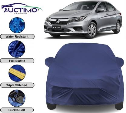 AUCTIMO Car Cover For Honda City (With Mirror Pockets)