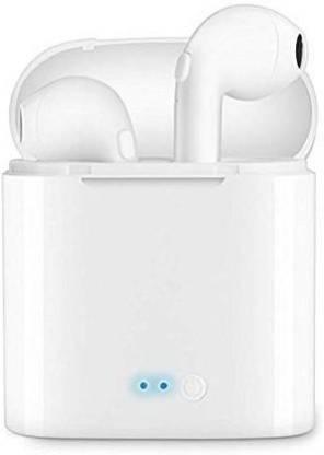 IMMUTABLE 20 4R5 _PODS RT- T7 TWS Buds Wireless Mini Portable Bluetooth Bluetooth Headset(White, True Wireless)