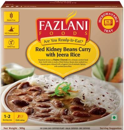 FAZLANI FOODS Ready to Eat Rajma Masala with Jeera RIce 300gm 300 g