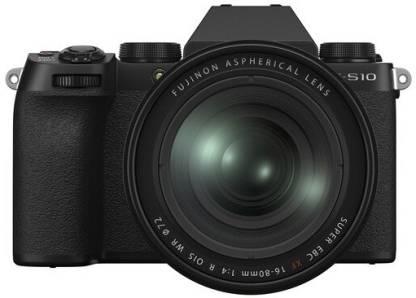FUJIFILM X Series X-S10 Mirrorless Camera Body with XF 16 - 80 mm Lens
